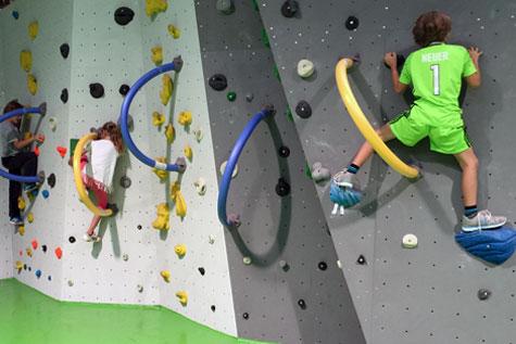 Cliffhanger-Kurs-kindertraining